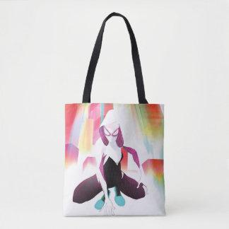 Spider-Gwen Neon City Tote Bag