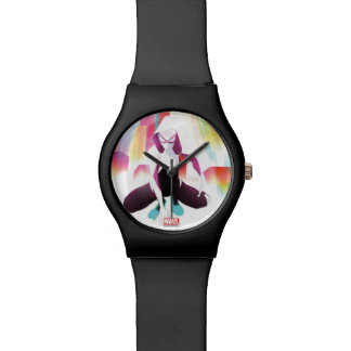 Spider-Gwen Neon City Watch