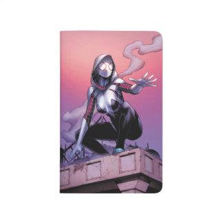 Spider-Gwen On Rooftop Journal
