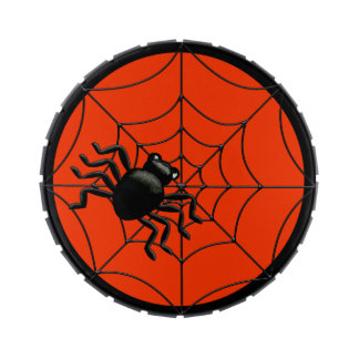 Spider Halloween Jelly Belly Candy Tin