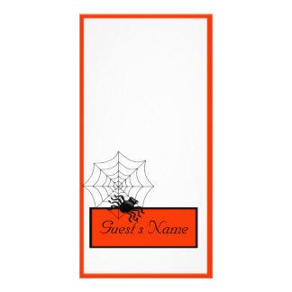 Spider Halloween Picture Card