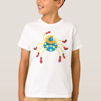 'Spider in Red Wellies' T-Shirt