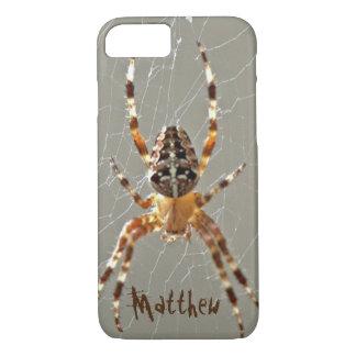 Spider in Web iPhone 8/7 Case