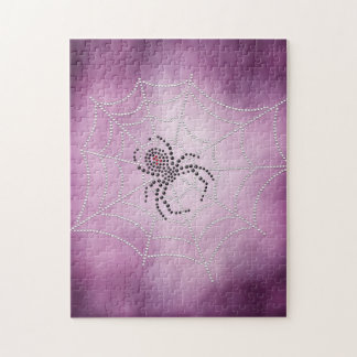 Spider in Web Jigsaw Puzzle