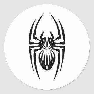 Spider Ink Design Classic Round Sticker