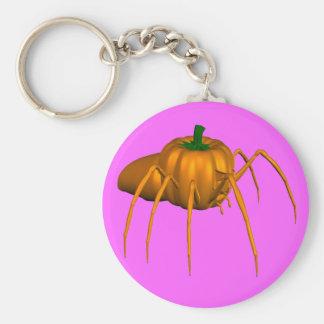 Spider Basic Round Button Key Ring
