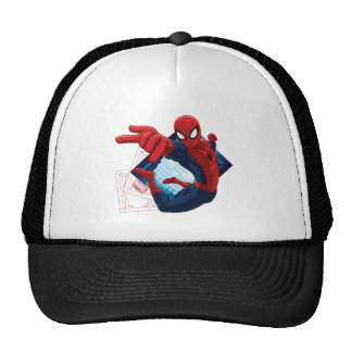 Spider-Man Action Character Badge Cap