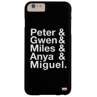 Spider-Man Alternates Ampersand Graphic Barely There iPhone 6 Plus Case
