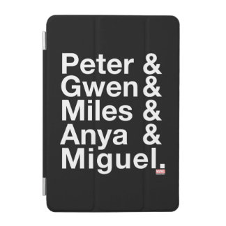 Spider-Man Alternates Ampersand Graphic iPad Mini Cover