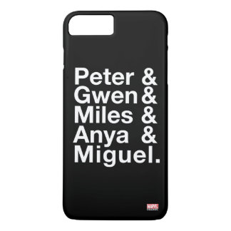 Spider-Man Alternates Ampersand Graphic iPhone 8 Plus/7 Plus Case