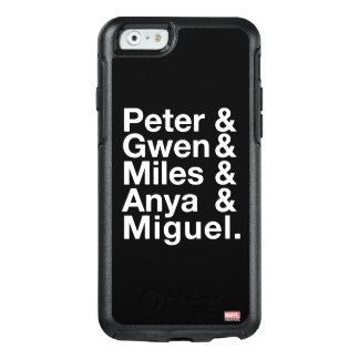 Spider-Man Alternates Ampersand Graphic OtterBox iPhone 6/6s Case