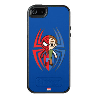 Spider-Man and Peter Parker Dual Identity OtterBox iPhone 5/5s/SE Case