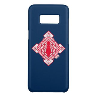 Spider-Man Art Deco NY Emblem Case-Mate Samsung Galaxy S8 Case