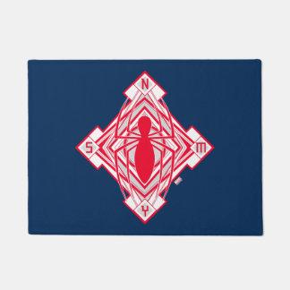 Spider-Man Art Deco NY Emblem Doormat