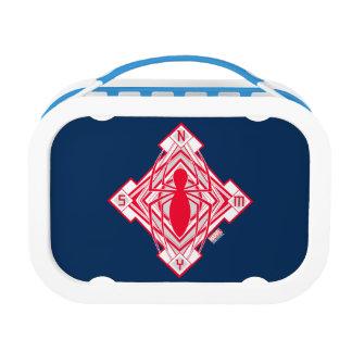 Spider-Man Art Deco NY Emblem Lunch Box