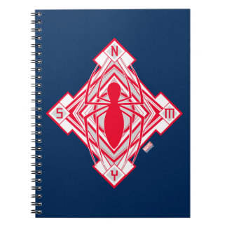 Spider-Man Art Deco NY Emblem Notebooks