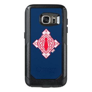 Spider-Man Art Deco NY Emblem OtterBox Samsung Galaxy S7 Case