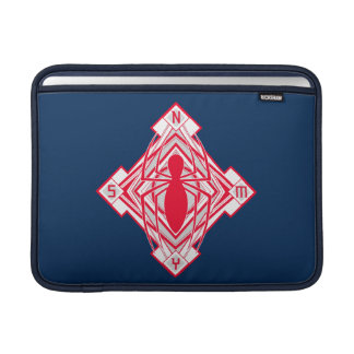 Spider-Man Art Deco NY Emblem Sleeve For MacBook Air