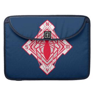 Spider-Man Art Deco NY Emblem Sleeve For MacBook Pro