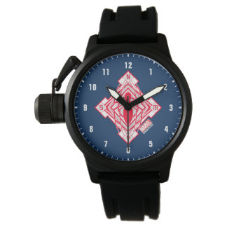 Spider-Man Art Deco NY Emblem Watch