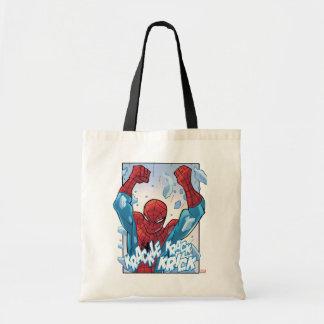 Spider-Man Breaking Glass
