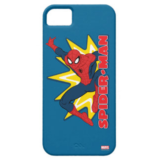 Spider-Man Callout Graphic iPhone 5 Cases