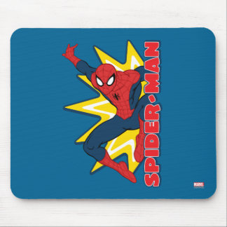 Spider-Man Callout Graphic Mouse Pad