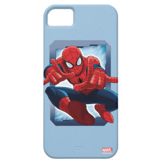 Spider-Man Character Card iPhone 5 Case