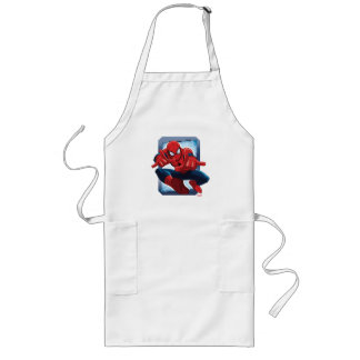 Spider-Man Character Card Long Apron