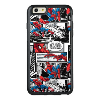 Spider-Man Comic Panel Pattern OtterBox iPhone 6/6s Plus Case