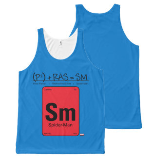Spider-Man Element Scientific Formula All-Over Print Tank Top