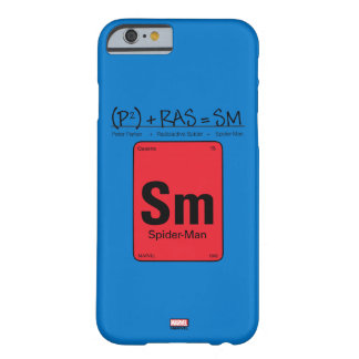 Spider-Man Element Scientific Formula Barely There iPhone 6 Case