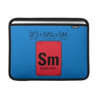 Spider-Man Element Scientific Formula MacBook Sleeve