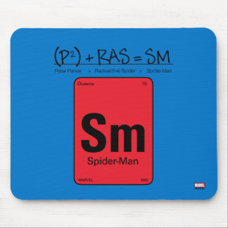 Spider-Man Element Scientific Formula Mouse Pad