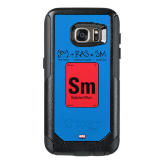 Spider-Man Element Scientific Formula OtterBox Samsung Galaxy S7 Case