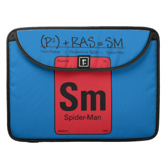 Spider-Man Element Scientific Formula Sleeve For MacBooks