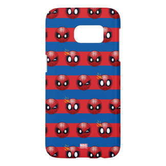Spider-Man Emoji Stripe Pattern