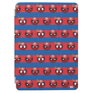 Spider-Man Emoji Stripe Pattern iPad Air Cover