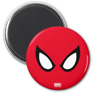 Spider-Man Eyes 6 Cm Round Magnet