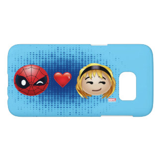 Spider-Man & Gwen Heart Emoji