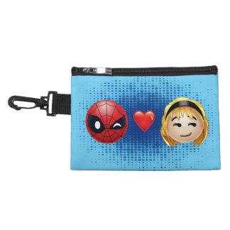 Spider-Man & Gwen Heart Emoji Accessory Bag