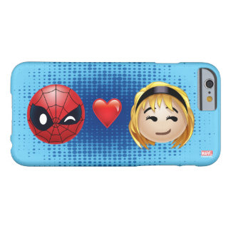Spider-Man & Gwen Heart Emoji Barely There iPhone 6 Case