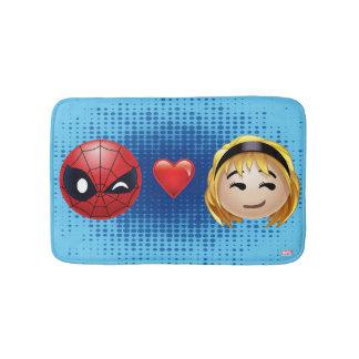 Spider-Man & Gwen Heart Emoji Bath Mat