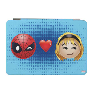Spider-Man & Gwen Heart Emoji iPad Mini Cover