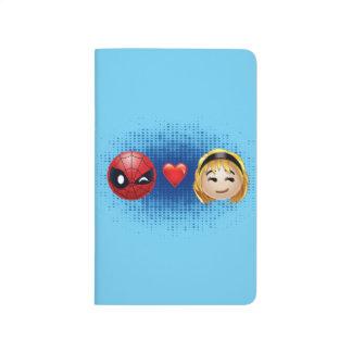 Spider-Man & Gwen Heart Emoji Journal