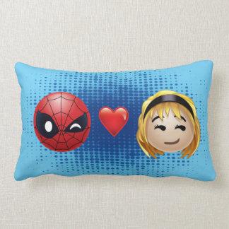 Spider-Man & Gwen Heart Emoji Lumbar Cushion