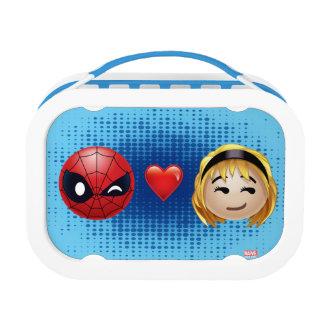 Spider-Man & Gwen Heart Emoji Lunch Box