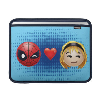 Spider-Man & Gwen Heart Emoji MacBook Sleeve