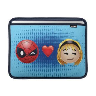 Spider-Man & Gwen Heart Emoji MacBook Sleeve