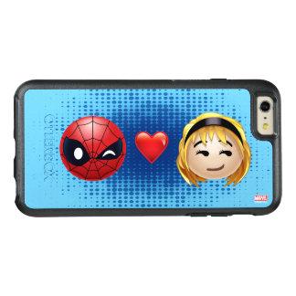 Spider-Man & Gwen Heart Emoji OtterBox iPhone 6/6s Plus Case